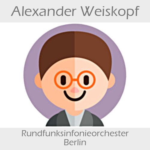 Alexander Weiskopf Kontrabass
