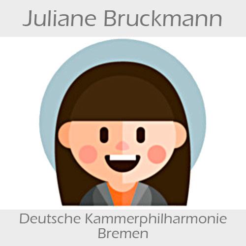 Juliane Bruckmann Kontrabass
